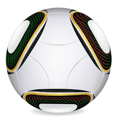 World Cup 2010 Soccer Ball Vector. Artist: iadamson; File type: Vector EPS