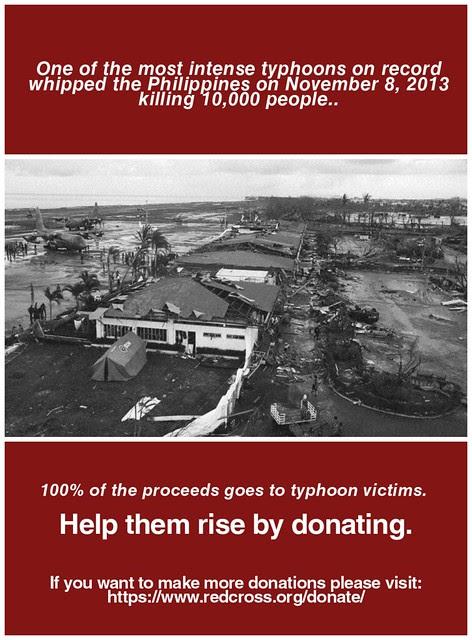 Typhoon Haiyan Fundraister