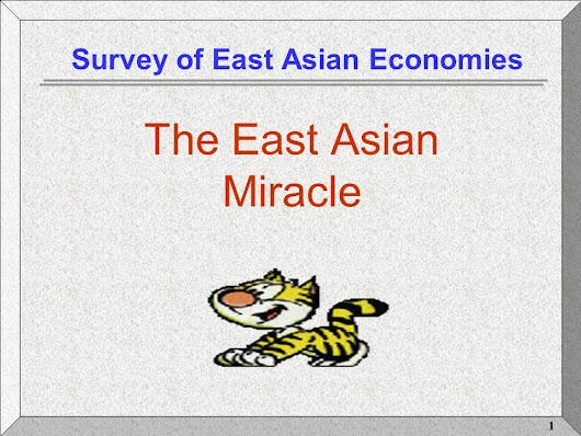 east asian economic miracle reorder