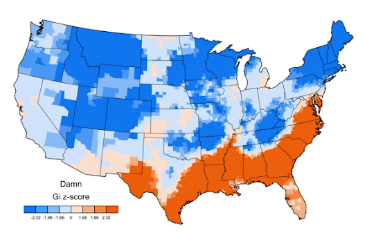 Mapping the United Swears of America