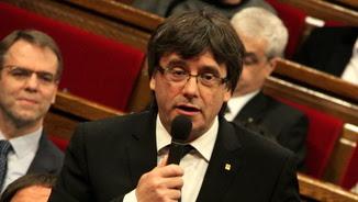 Puigdemont, durant la sessió de control (ACN)