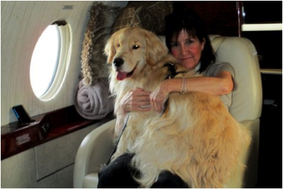 Roman Holiday:  Meet A Private Jet Flight Attendant For Pets