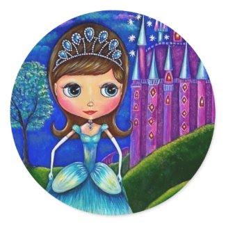 Cinderella Sticker sticker