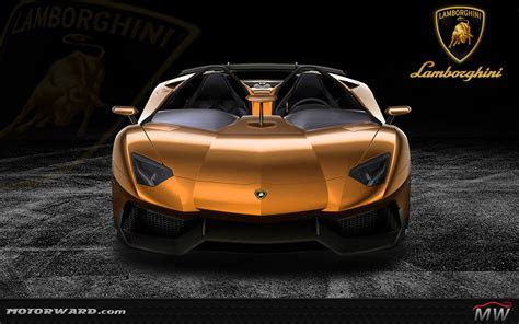 Lamborghini Aventador Gold Wallpaper   johnywheels.com