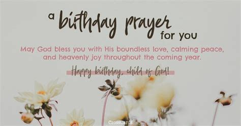 Birthday Prayers   Beautiful Blessings for Myself & Loved