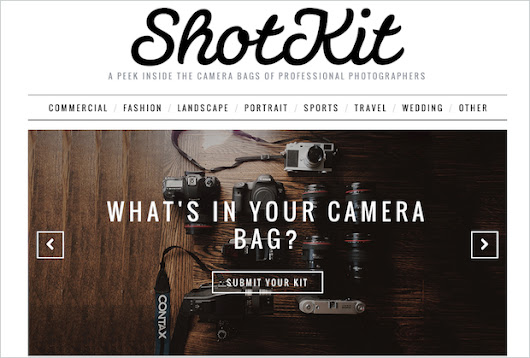 ShotKit Gives You a Peek at the Pros' Gear AND the Photos They Shoot with It