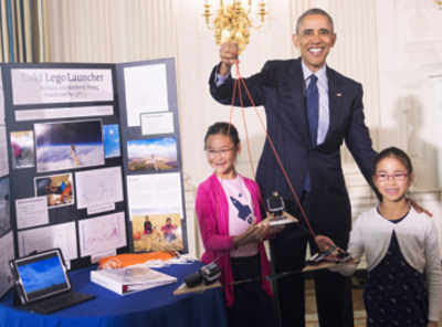 Indian-American kids swarm White House Science Fair 2016 - Times of India