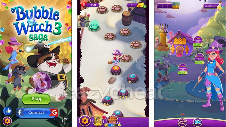 Bubble Witch Saga 3 Cheat