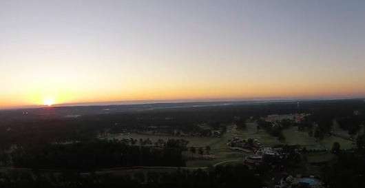Sunrise over Pinehurst #2