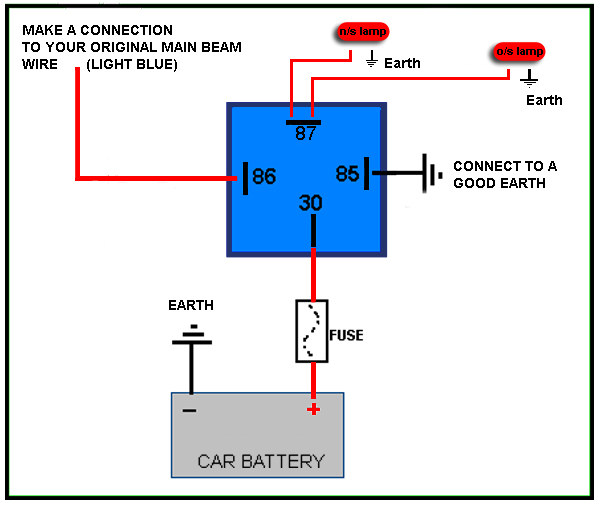 Rear Fog Lamp Wiring Diagram Aamidis Blogspot Com