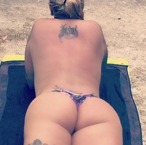 Monique Evans (Foto: Reprodução/Instagram)