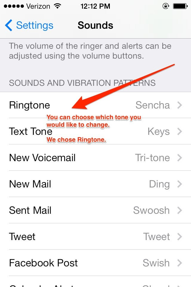 how to change your vibration on iphone 7