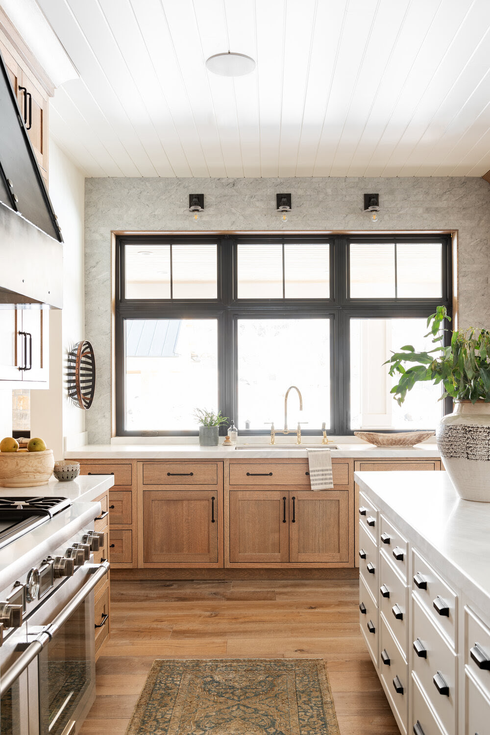 Not Your Mother's Natural Wood Kitchen - Studio McGee