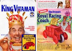 King Vitamin cereal box