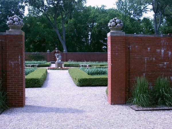 Walled Garden at Allerton Park, Illinois
