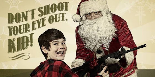 Santa Gives Child An AR-15 Rifle In Latest Ad From Canada's Gun Lobby
