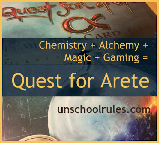 Chemistry plus alchemy plus magic plus gaming: Tons of homeschool fun - Unschool RULES
