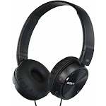 Sony MDR ZX110NC Over-Ear Headphones - Noise-Canceling - Black