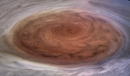 Juno Reveals Solar System's Largest Storm Like Never Seen Before