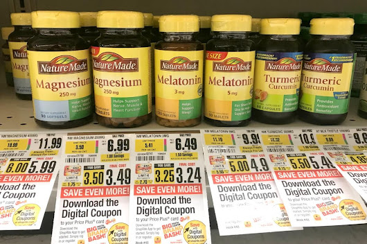 Better Than FREE Nature Made & Nature's Truth Vitamins at ShopRite! {Rebate}