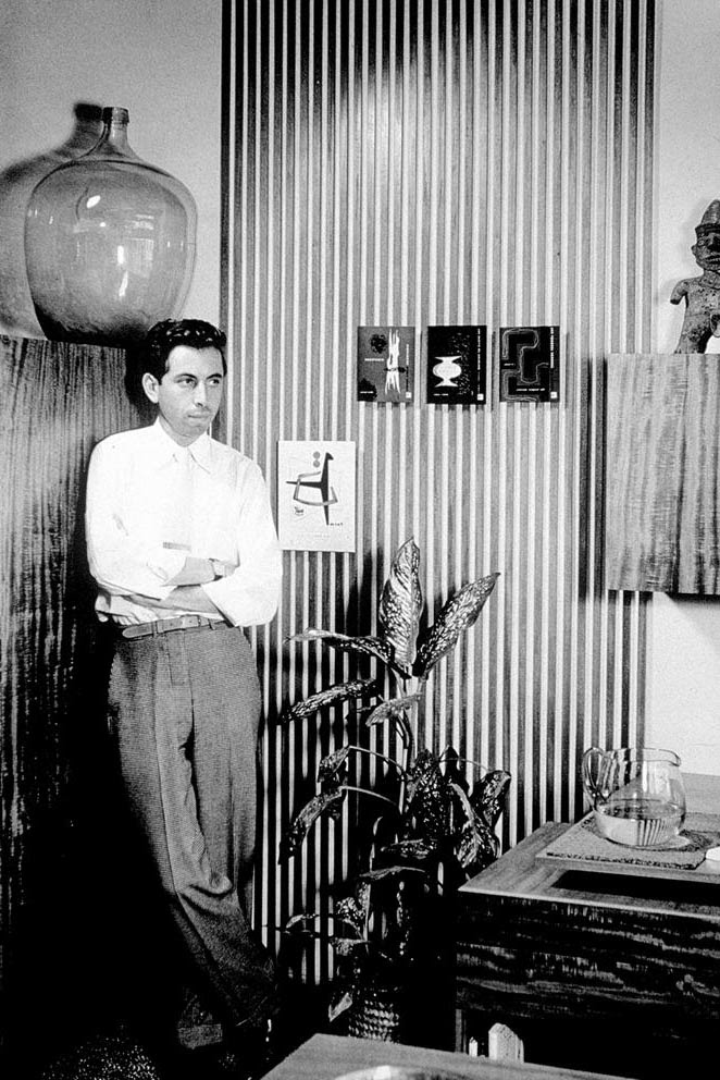 Photo of Alvin Lustig, 1945
