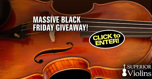 Enter for a chance to WIN $8,000 in Violin Prizes from Superior Violins!
