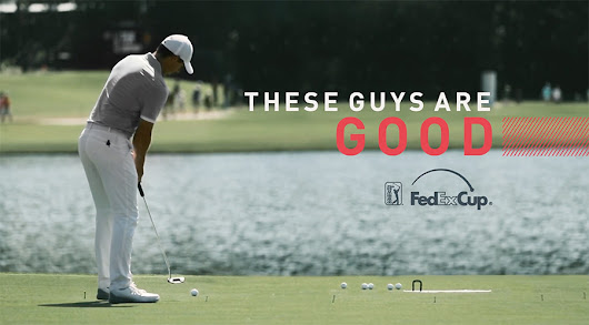 PGA launches 'That's Good' ad campaign to promote FedExCup