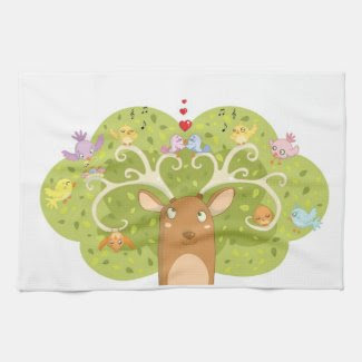 Spring time kitchentowel