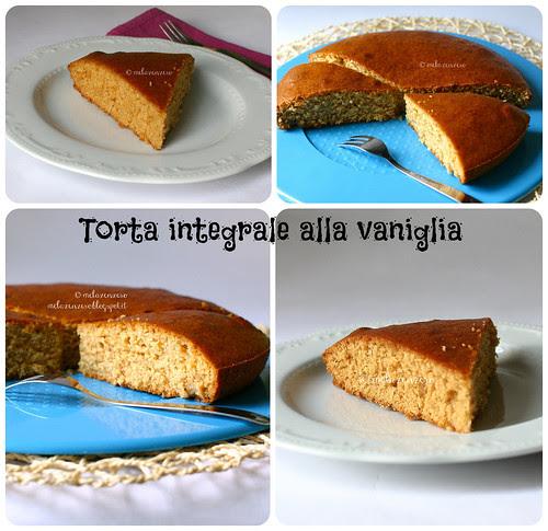 torta integrale alla vaniglia