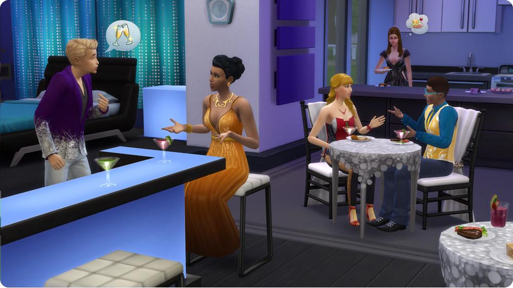 Die Sims 4 Luxus Party Accessoires Simension