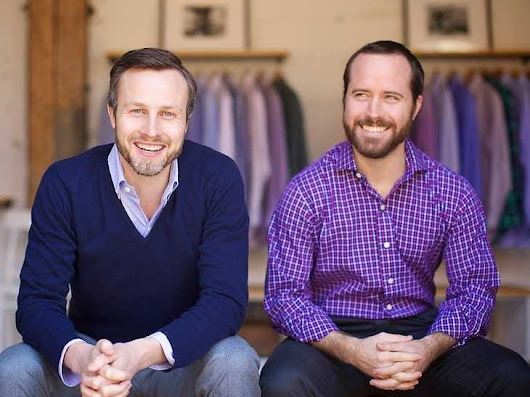 How The Lehman Collapse Inspired 2 Friends To Start A Luxury Men's Clothing Company