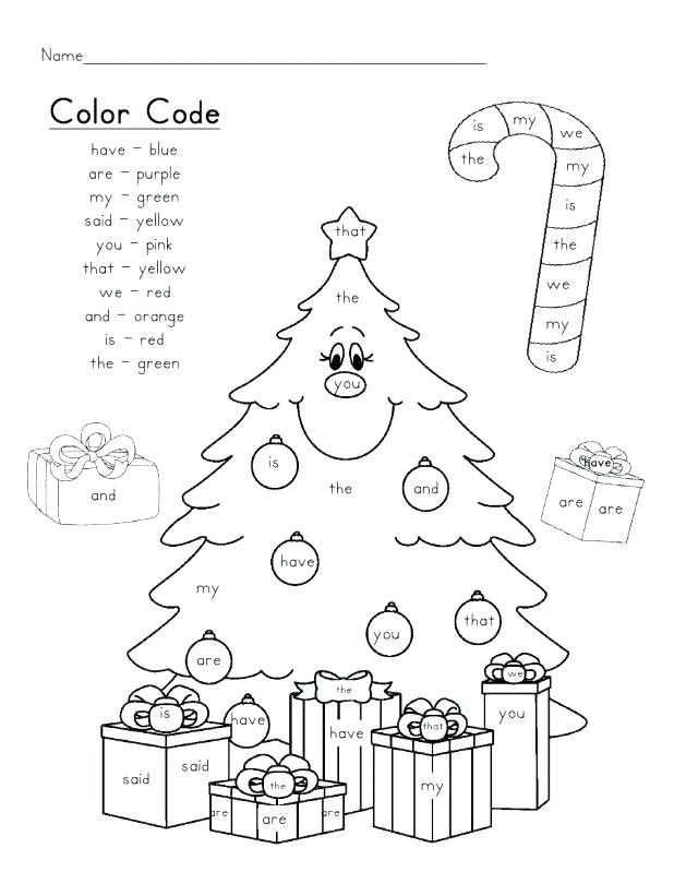 Christmas Coloring Pages With Words at GetColorings.com ...