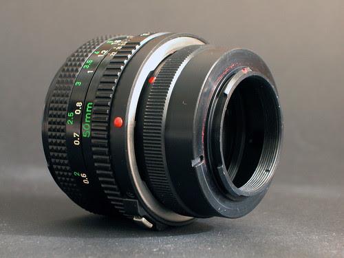 FD 50mm On Adaptor