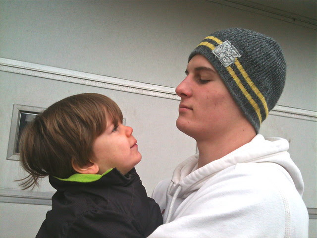 Drew and Oliver