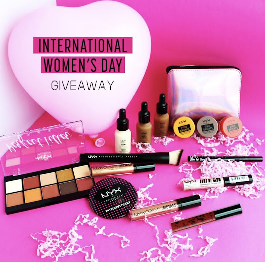 #Win Makeover Passes from Nyx Professional #Malaysia - #GIFTOUT #FREE #GIVEAWAYS | #Singapore | #Malaysia | #USA | #Korea | #Worldwide