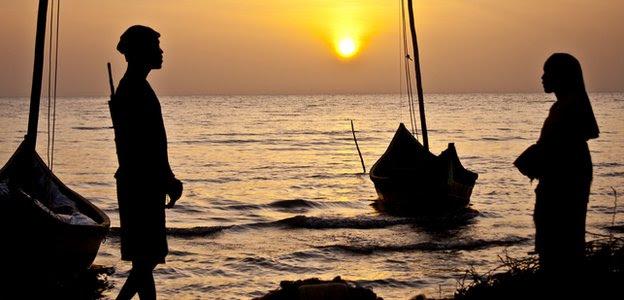Lake Turkana at sunset