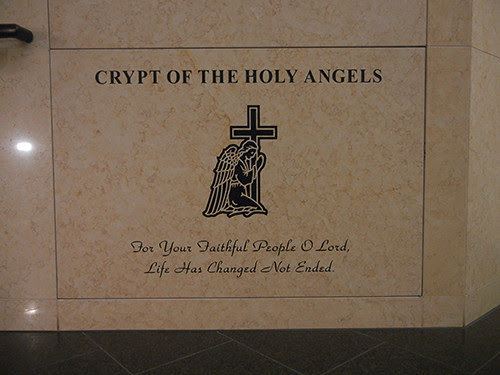 DSCN7212 _ Crypt of the Holy Angels,  Cathedral of Christ the Light, Oakland, California
