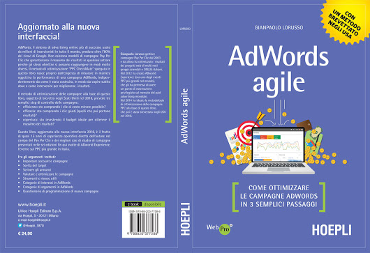 """AdWords Agile"" è tra i 10 Best Seller Amazon nella categoria Internet"