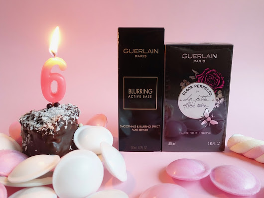 Guerlain La Petite Robe Noire Black Perfecto & Blurring Active Base Giveaway - Happyface313