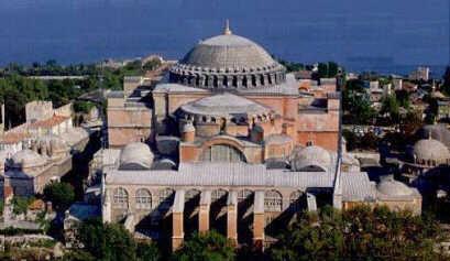 O Ναός της του Θεού Σοφίας στην Κωνσταντινούπολη.