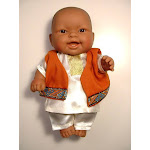 Multicultural Boy Doll in South Asian Kurta Pyjamas