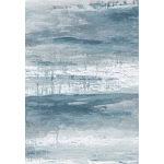 "Vintage Blue Meadow Art Print Design Area Rug 7'6"" x 10'3"" / Blue"