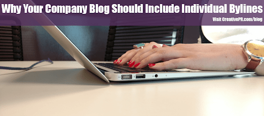 When To Use A Byline For A Corporate Blog