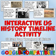 Interactive Timeline Activity for Back to School