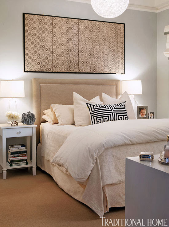 Decorating Ideas Beautiful Neutral Bedrooms Traditional Home