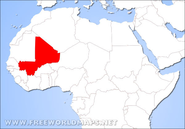 Where Is Mali Located On The World Map | World Map