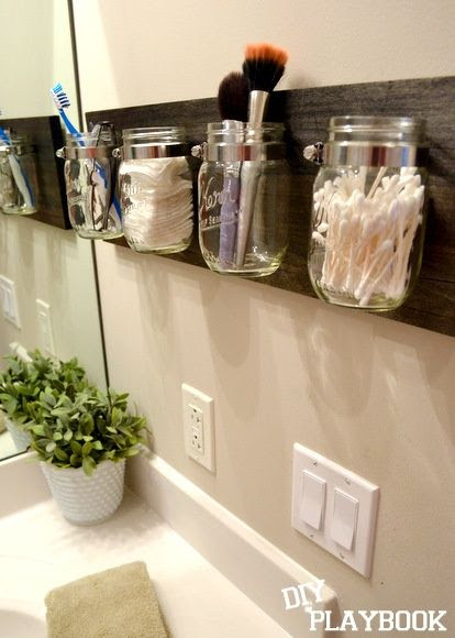 counter space saver.  perfect for our tiny bathroom!