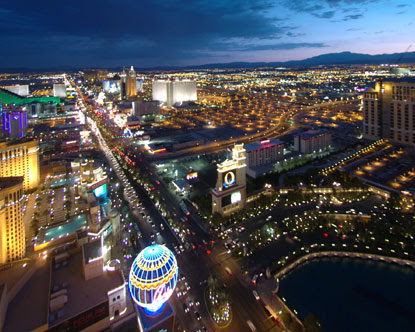 The strip is a nickname for the street named Las Vegas Boulevard,