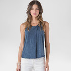 Standards & Practices Women's Indigo Sleeveless Top