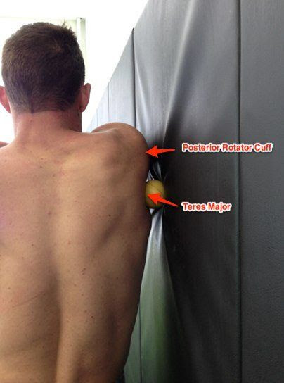 Self Myofascial Release for the Teres Major